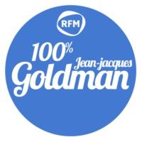 Logo de la radio RFM 100% Jean-Jacques Goldman