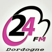 Logo of radio station 24FM Dordogne