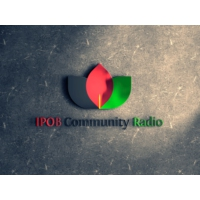 Logo of radio station IPOB Community Radio