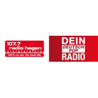 Logo of radio station 107.7 Radio Hagen - Dein DeutschPop Radio