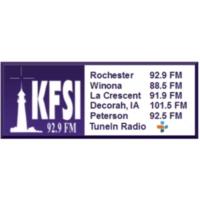 Logo of radio station KFSI