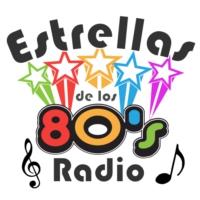 Logo of radio station Estrellas de los 80s