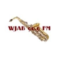 Logo of radio station WJAB 90.9