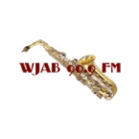 Logo of radio station WJAB 90.9