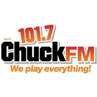 Logo of radio station WAVF 101.7 Chuck FM
