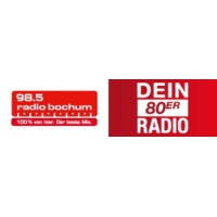 Logo of radio station Radio Bochum - Dein 80er Radio