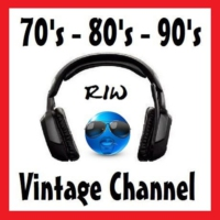 Logo of radio station 70's 80's 90's - RIW VINTAGE CHANNEL