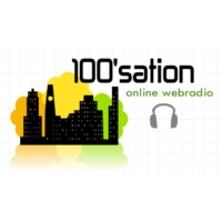 Logo of radio station 100'sation