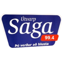 Logo of radio station Utvarp Saga