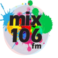 Logo of radio station Mix 106 fm