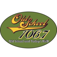 Logo of radio station KMEZ-FM Old School 106.7
