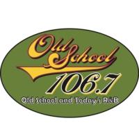 Logo de la radio KMEZ-FM Old School 106.7