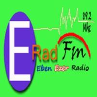 Logo of radio station Radio Eben Ezer  Lubumbashi 2