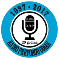 Logo of radio station Radio Preporod Odžak