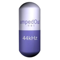 Logo of radio station ampedOut