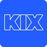 Logo of radio station KIX Belgium