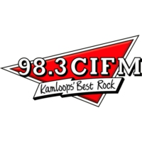 Logo of radio station 98.3 CIFM