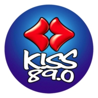 Logo of radio station KISS FM 89