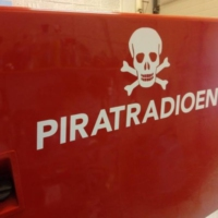 Logo of radio station Piratradioen