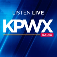 Logo of radio station KPWX Radio