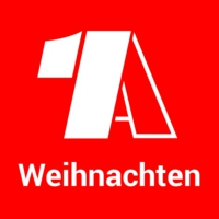 Logo of radio station - 1A Weihnachten -