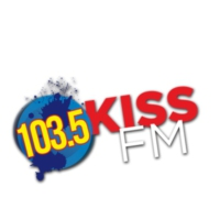 Logo of radio station KSAS 103.5 KISS-FM