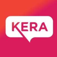 Logo of radio station KERA