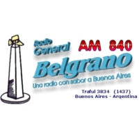 Logo of radio station General Belgrano 840