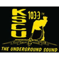 Logo of radio station KSCU 103.3