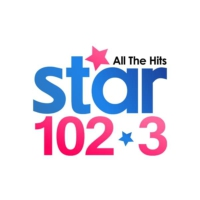 Logo of radio station KEHK Star 102.3