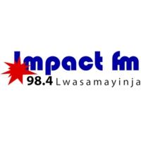 Logo of radio station Impact FM Kampala Uganda