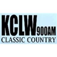 Logo of radio station KCLW 900 AM