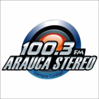Logo of radio station Arauca Stereo 100.3 FM