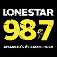 Logo of radio station KPRF 98.7 Lone Star FM