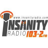 Logo of radio station Insanity Radio 103.2 FM