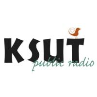 Logo of radio station KSUT Radio