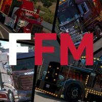 Logo of radio station FreightFM