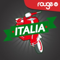 Logo of radio station Rouge Italia