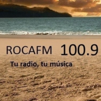 Logo of radio station Roca FM Madrid 100.9