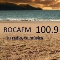 Logo de la radio Roca FM Madrid 100.9