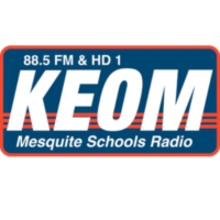 Logo of radio station KEOM 88.5 FM