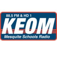 Logo of radio station KEOM 88.5 FM