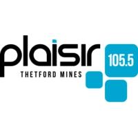 Logo of radio station Plaisir 105,5