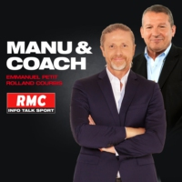 Logo of the podcast RMC : 08/12 - Manu & coach en direct des Menuires
