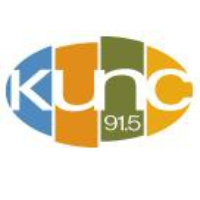 Logo of radio station KUNC 91.5