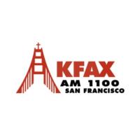 Logo of radio station KFAX AM