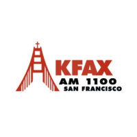 Logo of radio station KFAX AM