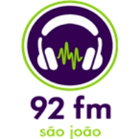 Logo of radio station Rádio 92 FM 92.1 FM Sao Joao da Boa Vista, SP