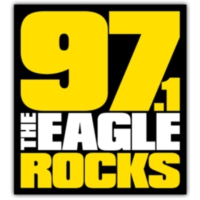 Logo of radio station KEGL 97.1 The Eagle Rocks
