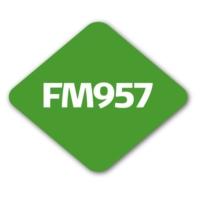 Logo of radio station FM957